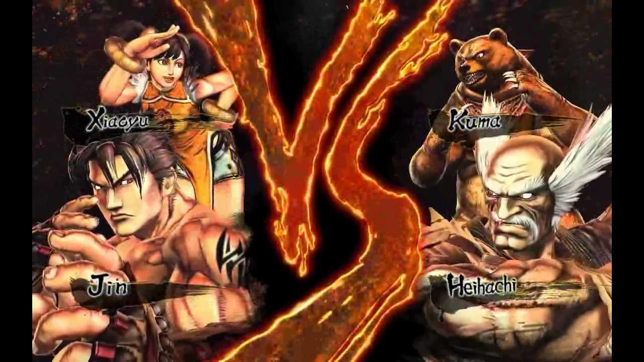 Tekken Ling Xiaoyu And Jin Kazama Jin Kazama Ling Xiaoyu