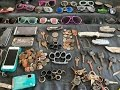 River Finds!   Rings, Coins, Knives And Sunglasses!