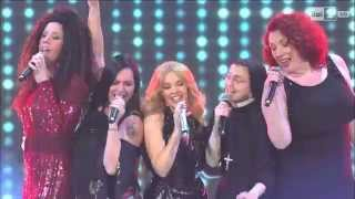 The Voice of Italy - Kylie Minogue, Suor Cristina, Daria Biancardi, Luna Palumbo e Gianna Chillà