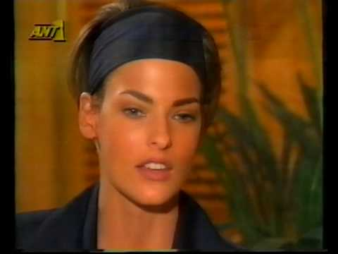 Linda Evangelista interview guest for Vassilios Kostetsos A