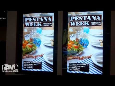 InfoComm 2015: Samsung Features High-Brightness Outside LCD Panel