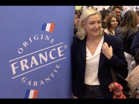 Marine Le Pen au Salon du Made in France