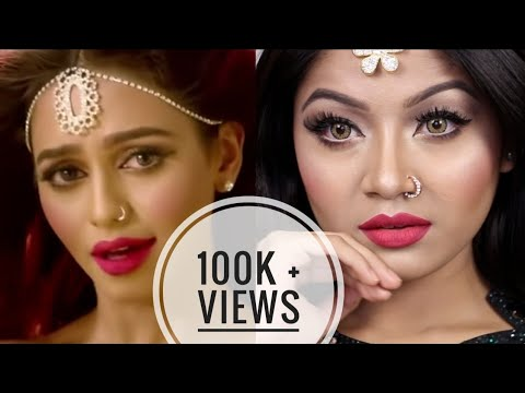 NUSRAAT FARIA In ALLAH MEHERBAAN Inspired Makeup Look | Simple Yet Glam EID MAKEUP TUTORIAL 2017