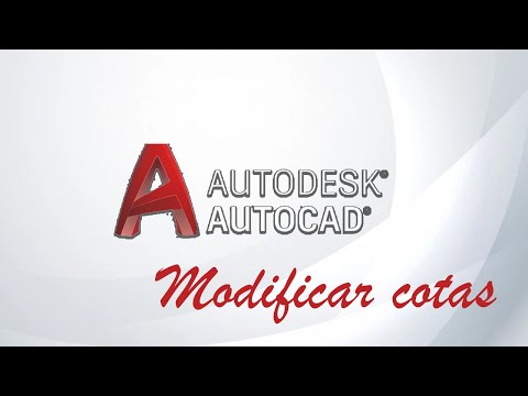 Modificar cotas en Autocad