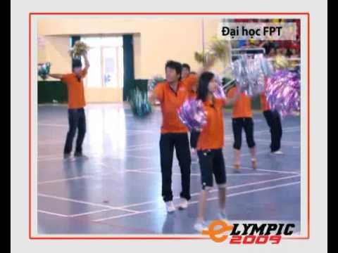 Student Dance - Đồng diễn sôi động - Sinh viên Đại học FPT [Elympic 2009]