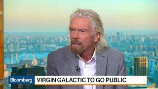 Richard Branson Taking Virgin Galactic Public Through Merger