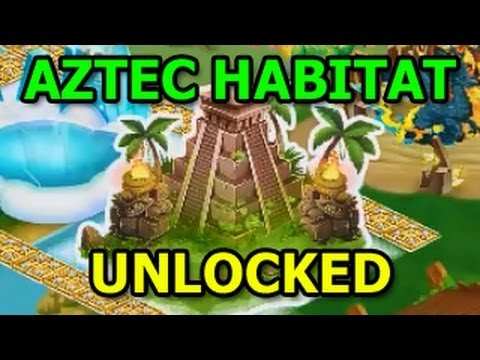 AZTEC HABITAT Dragon City Unlocked DAY 2
