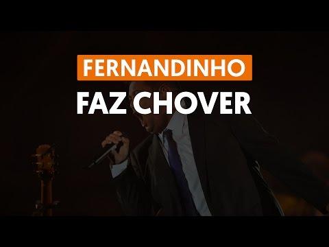 Faz Chover - Fernandinho (aula de violão)