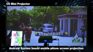Download CSQ C6 Android DLP Projector 3Gp Mp4