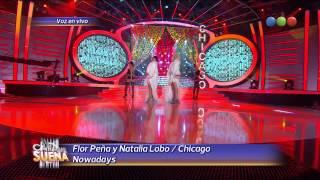 Flor Peña y Natalia Lobo, Chicago Nowadays - Tu Cara me Suena 2014