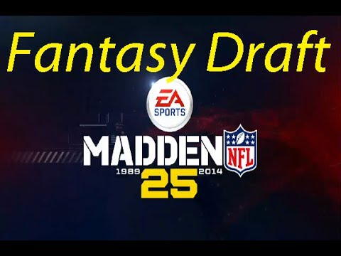 The new fantasy draft in connected careers in Madden 25 (Xbox One)