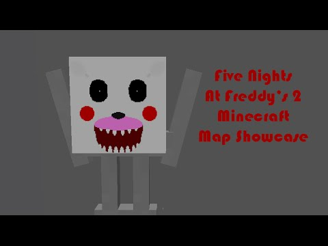 Five nights at freddy s 2 minecraft demo map showcase updated 01 dec