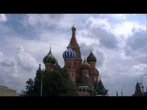 Moscow Москва Time-lapse high-speed