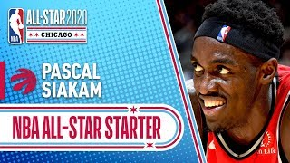Pascal Siakam 2020 All-Star Starter | 2019-20 NBA Season