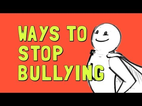 Ways to Stop Bullying