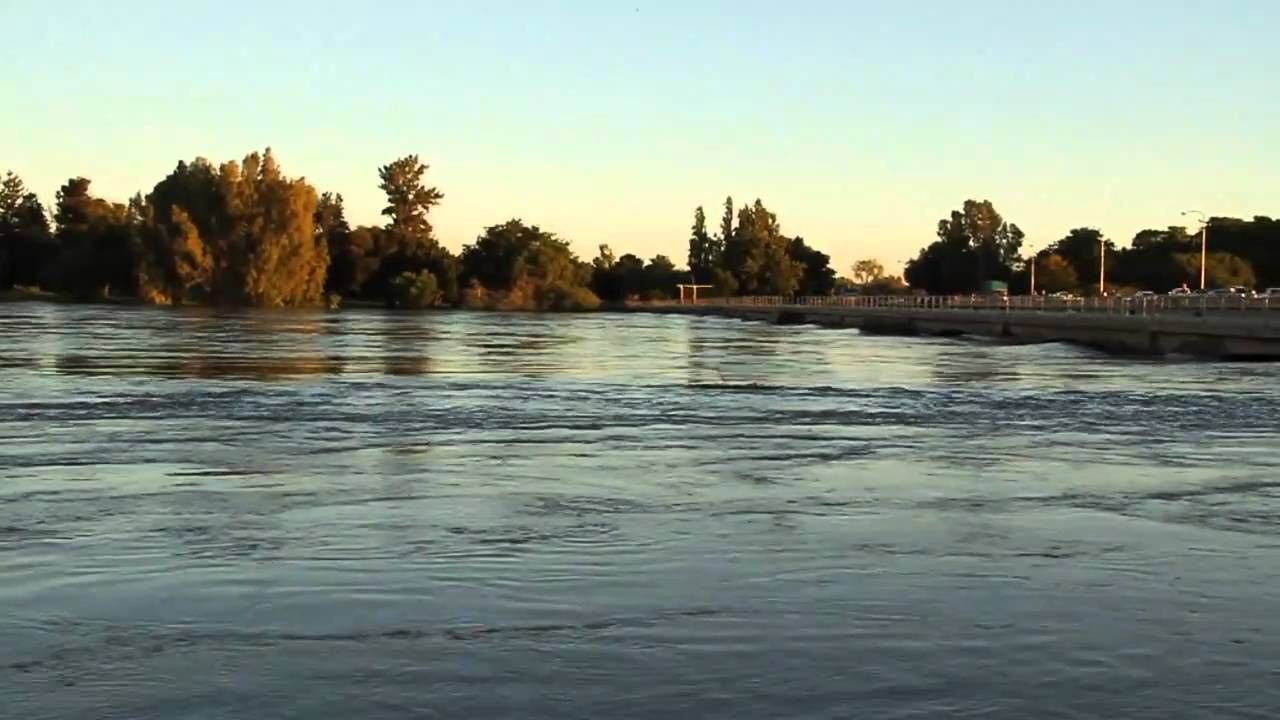 Orange River Flood Water Under