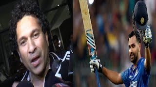 Sachin Tendulkar on Rohit Sharma's 264 runs record - EXCLUSIVE.