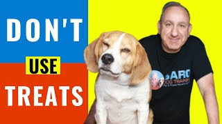 Dog training using play and praise(Without the use of treats)