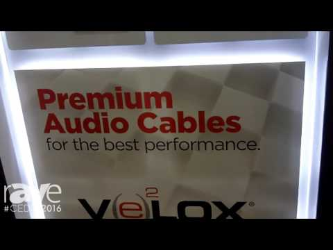 CEDIA 2016: Metra Home Theater Group Highlights VELOX Premium Audio Cables