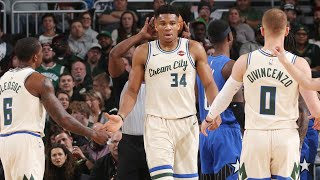 Highlights: Bucks 110 - Magic 101 | 12.9.19