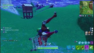 FORTNITE FLYING CART????*