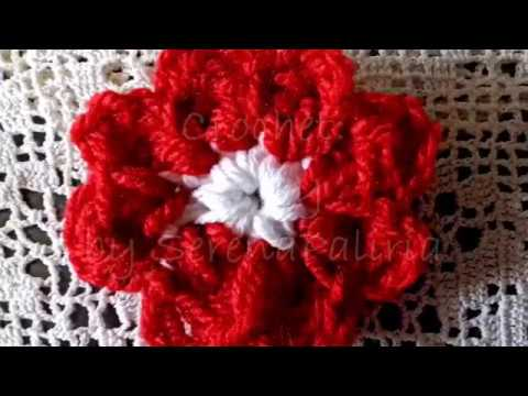 How To Crochet A Daisy Flower - How To Make A Cluster Stitch