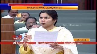 Minister Bhuma Akhila Priya Speech in AP Assembly  | hmtv