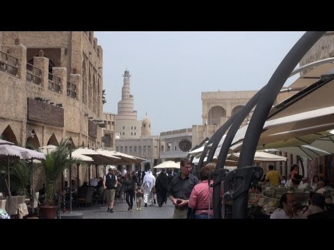 Doha / Qatar - walkabout important Souq Waqif  March 2013 - new !