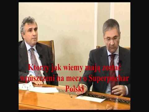 TV jaja - Dziennik Polski w zagranicznej TV - raport o meczu Wisła - Legia