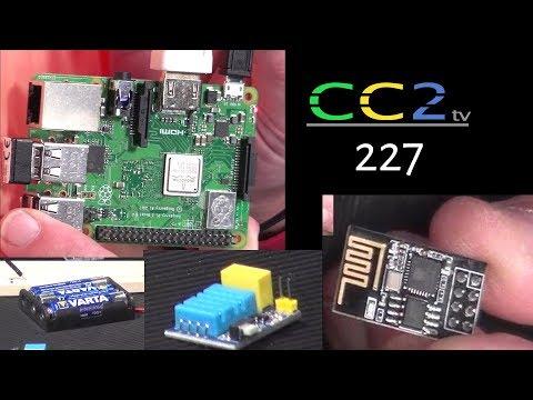 CC2tv #227  WLAN-Thermometer selbst bauen und Der Raspi mit Stahlhelm!