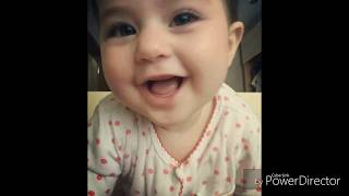 Cute baby 😘 singing Jana Gana National Anthem cute voice must watch you will surely laugh out loud