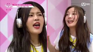 Funniest/questionable moments in Produce 48 so far