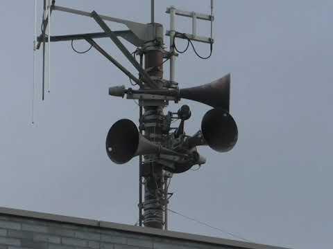 熊本地震から5年阿蘇市役所で黙とう