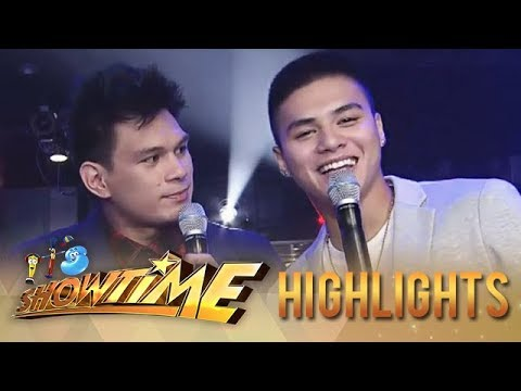 It's Showtime Miss Q & A: English lesson with Hashtag Zeus and Ronnie