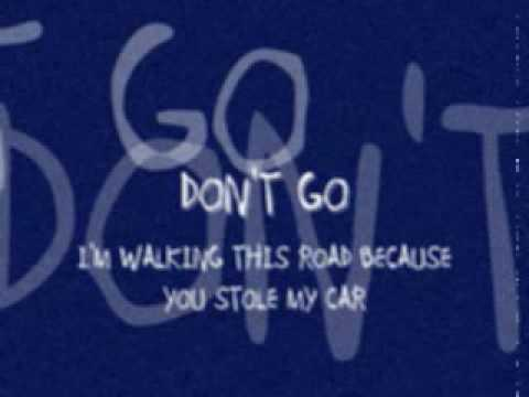 Fascinoma - Im Walking This Road Because You Stole My Car Dont Go