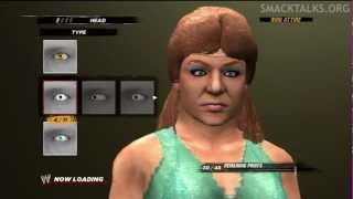 WWE '12 The Fabulous Moolah CAW Formula by TimberedMass209