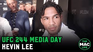 Kevin Lee talks training with 'cerebral' Georges St-Pierre | UFC 244 Media Day
