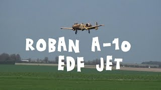 Roban A-10 Large scale RC EDF Jet