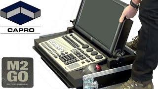 Capro Flight Case for Martin M2GO og ELO Touch 2201L