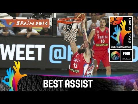 Usa V Serbia - Best Assist - 2014 Fiba Basketball World Cup video