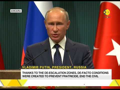 De facto conditions to end Syrian civil war achieved, says Vladimir Putin