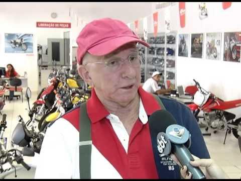 Vendas de motocicletas ficam abaixo da expectativa de comerciantes