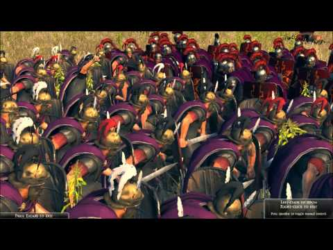 Rome 2 Total War Lets Compare Units in Battle. # 5 The Praetorian Guard vs Praetorians