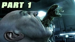 Let's Play Alien Vs Predator 3 Deutsch #01 Alien Story - Nummer 6 lebt