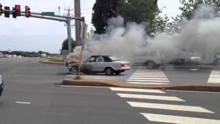Car open Fire at Charlottesville , Va