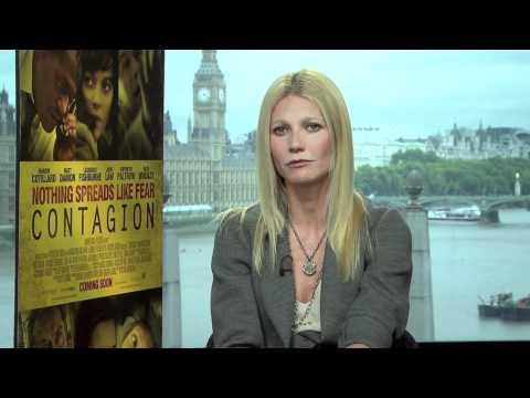 Entrevista Gwyneth Paltrow en Español sobre Película Contagion.