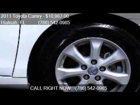 2011 Toyota Camry SE 6-Spd MT for sale in Hialeah, FL 33010