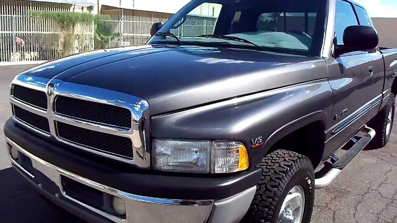 2001 Dodge Ram 1500 Laramie SLTQCab4x4V8 Magnum 52LA
