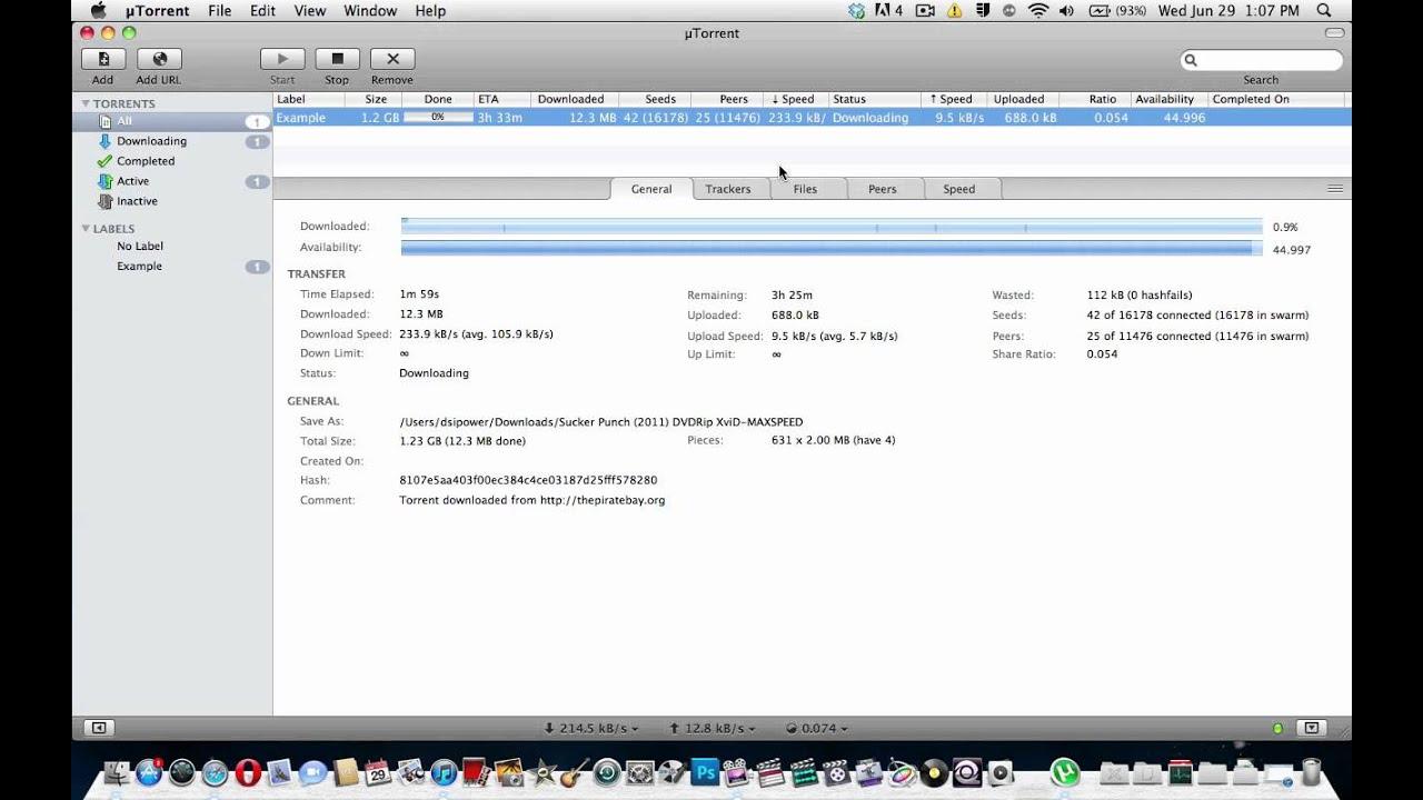 how to make utorrent run faster