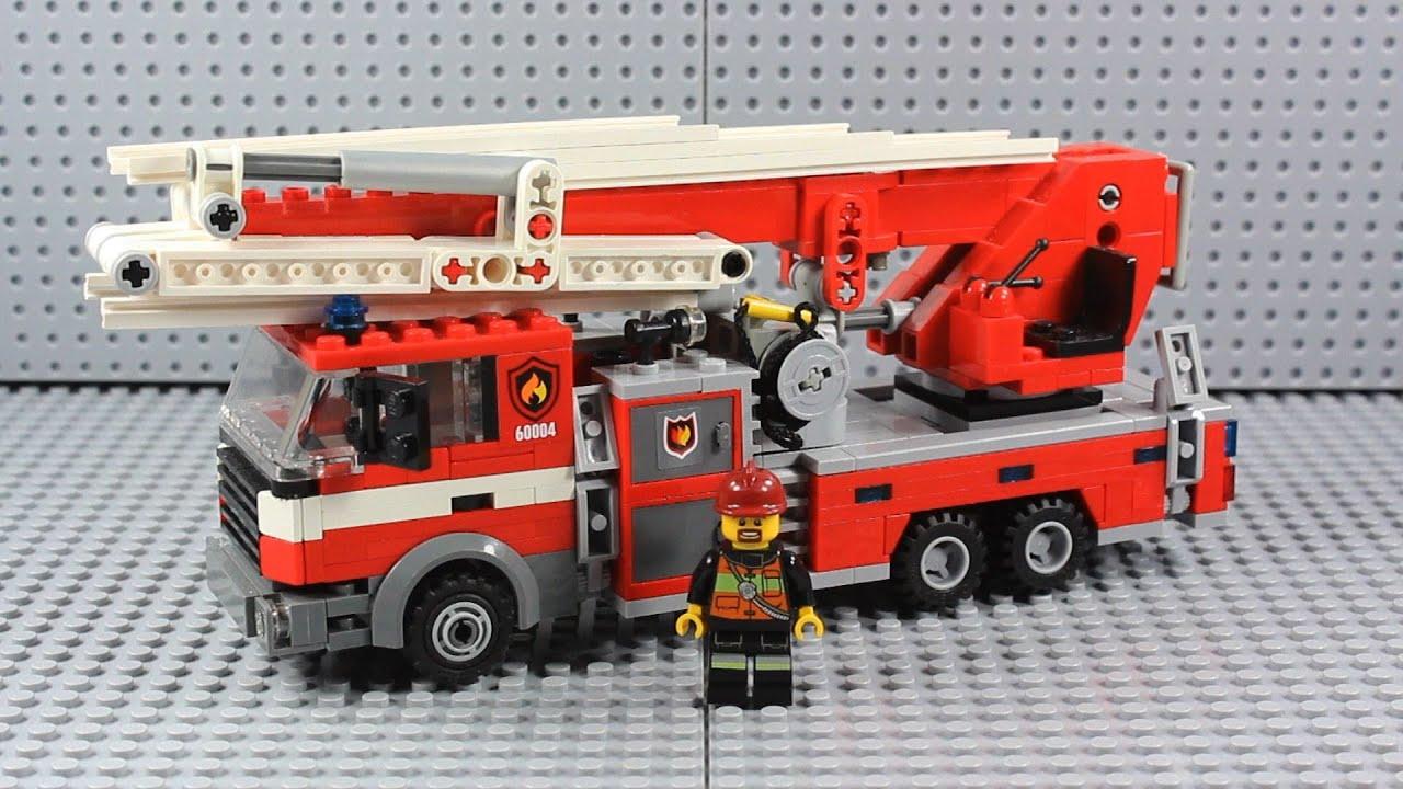 Lego Fire Trucks in Action Lego Ladder Truck Fire Truck